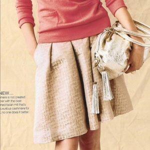 J. Crew skirt women's gold skirt pattern